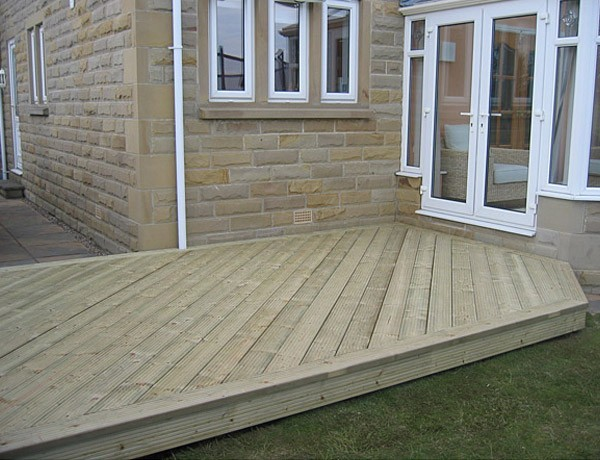 After decking
